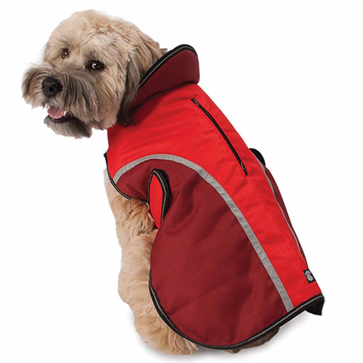 Calgary Dog Coat - Red
