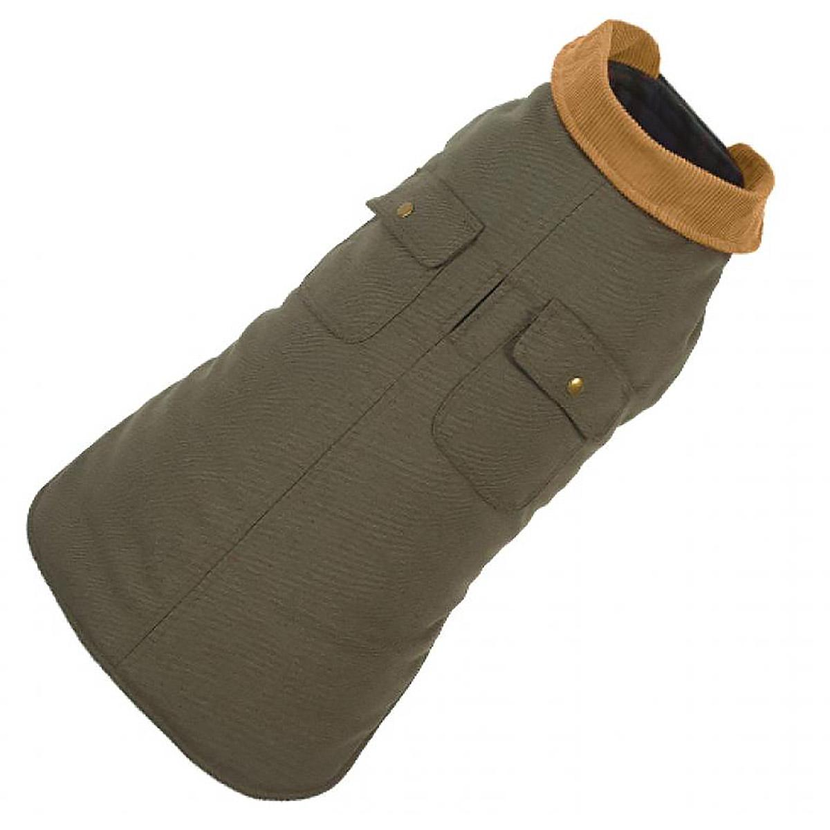 Chester Barn Dog Coat by Up Country - Green