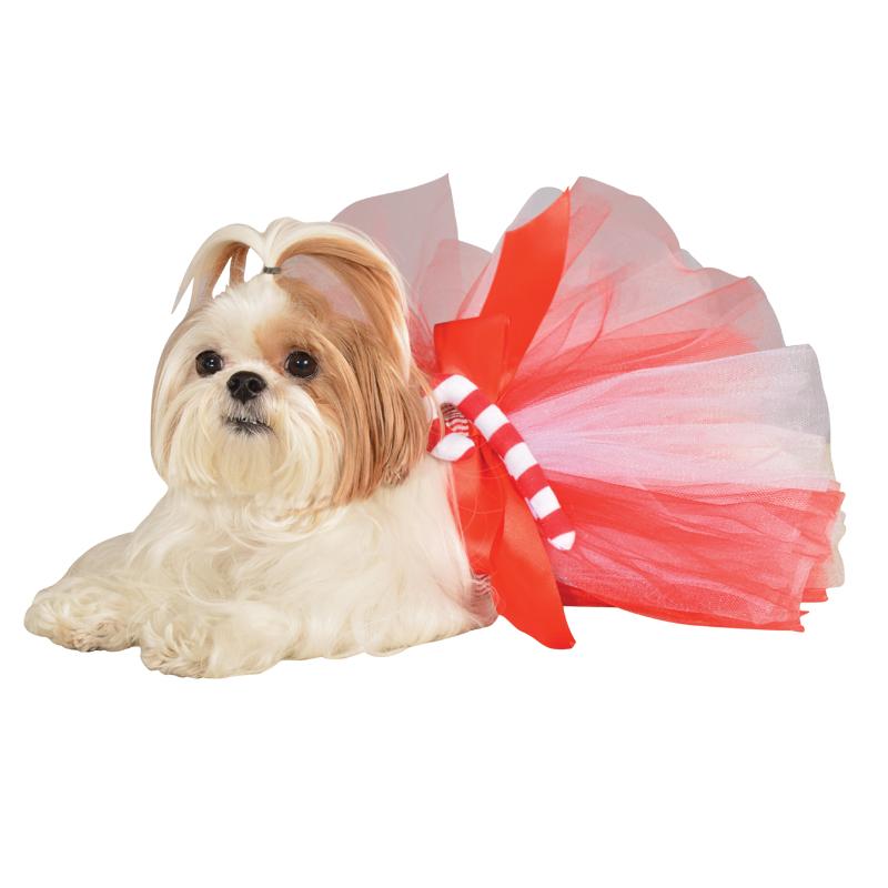 Candy Cane Dog Tutu