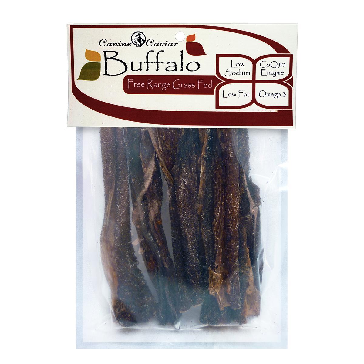 Canine Caviar Buffalo Tripe 6-Inch Dog Treats - Vanilla 6-pack