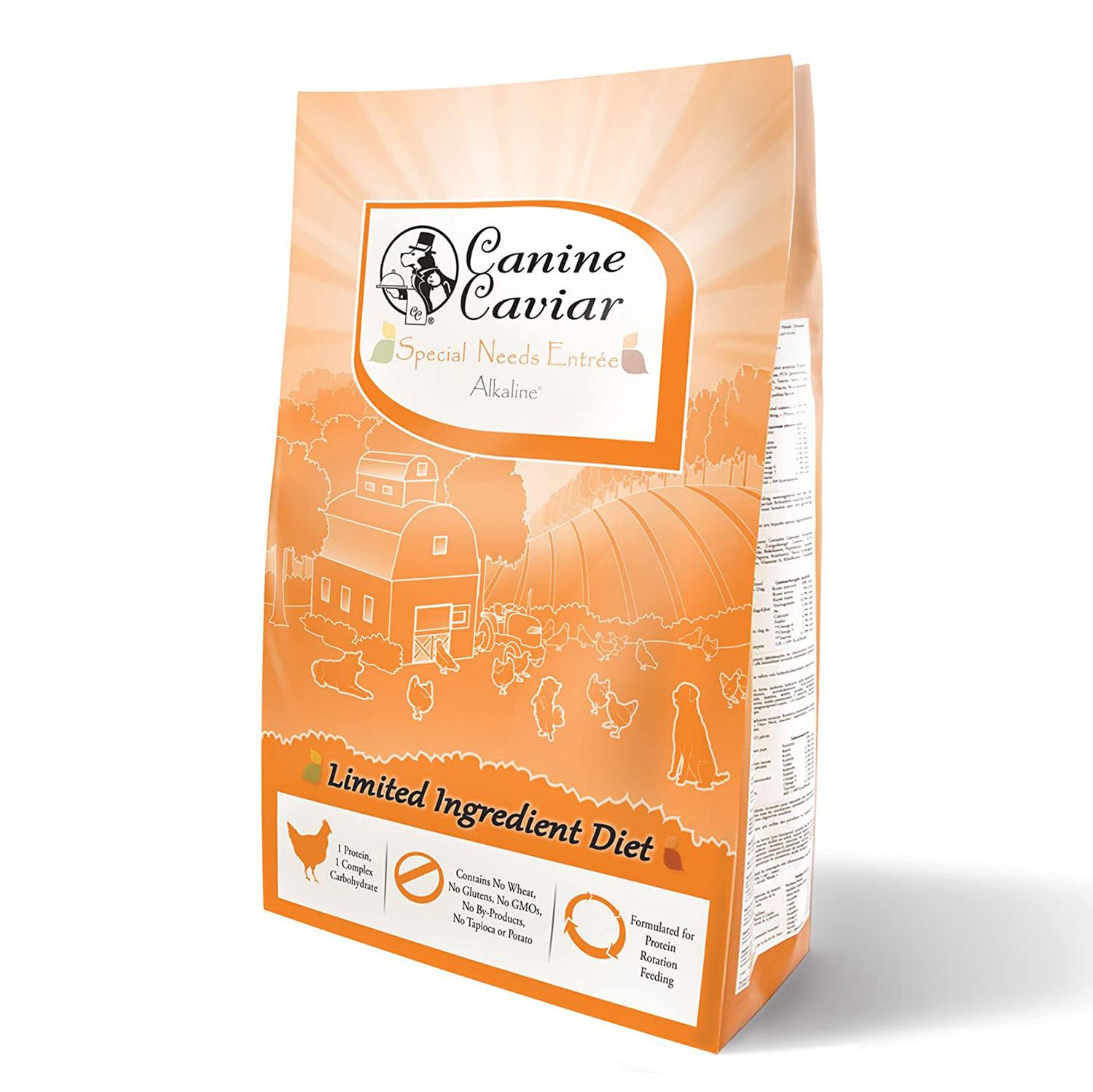 Canine Caviar Limited-Ingredient Alkaline Holistic Dry Dog Food - Special Needs with Chicken & Brown Rice