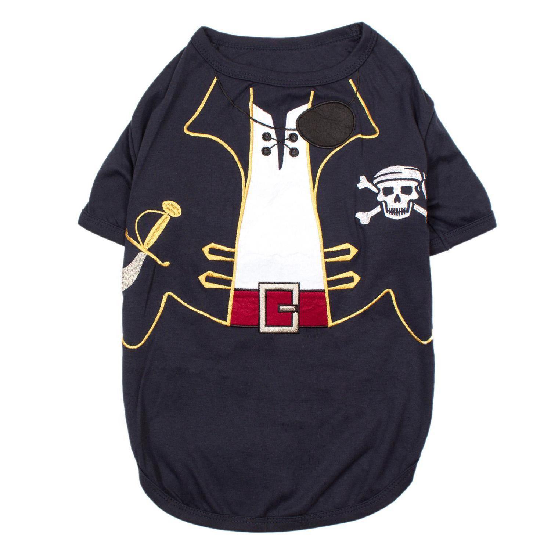 Captain Sparrow Dog Costume Shirt