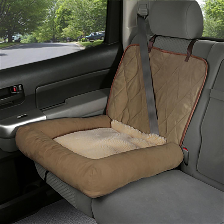 Solvit Car Cuddler Dog Seat Cover - Brown