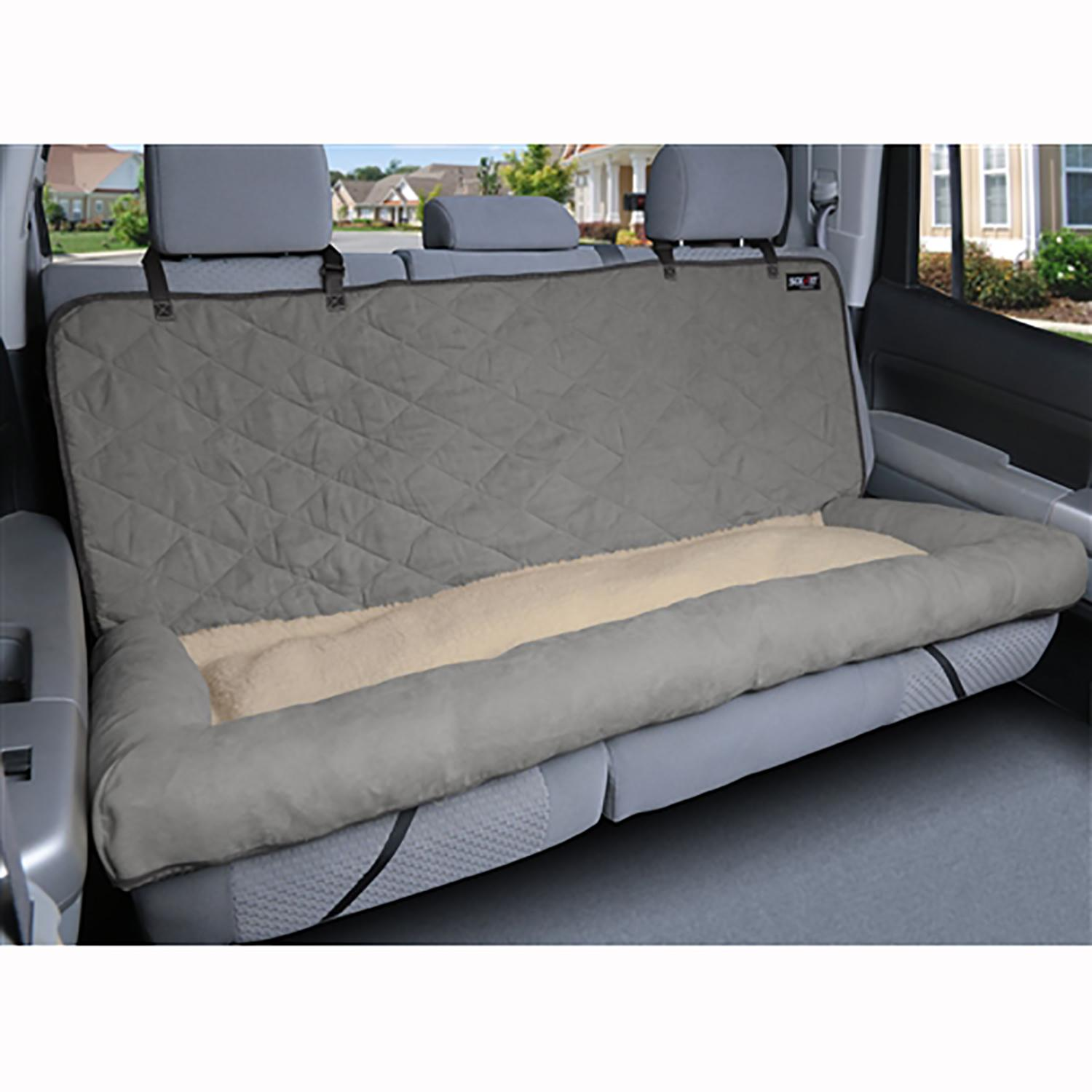 Solvit Car Cuddler Dog Seat Cover - Gray