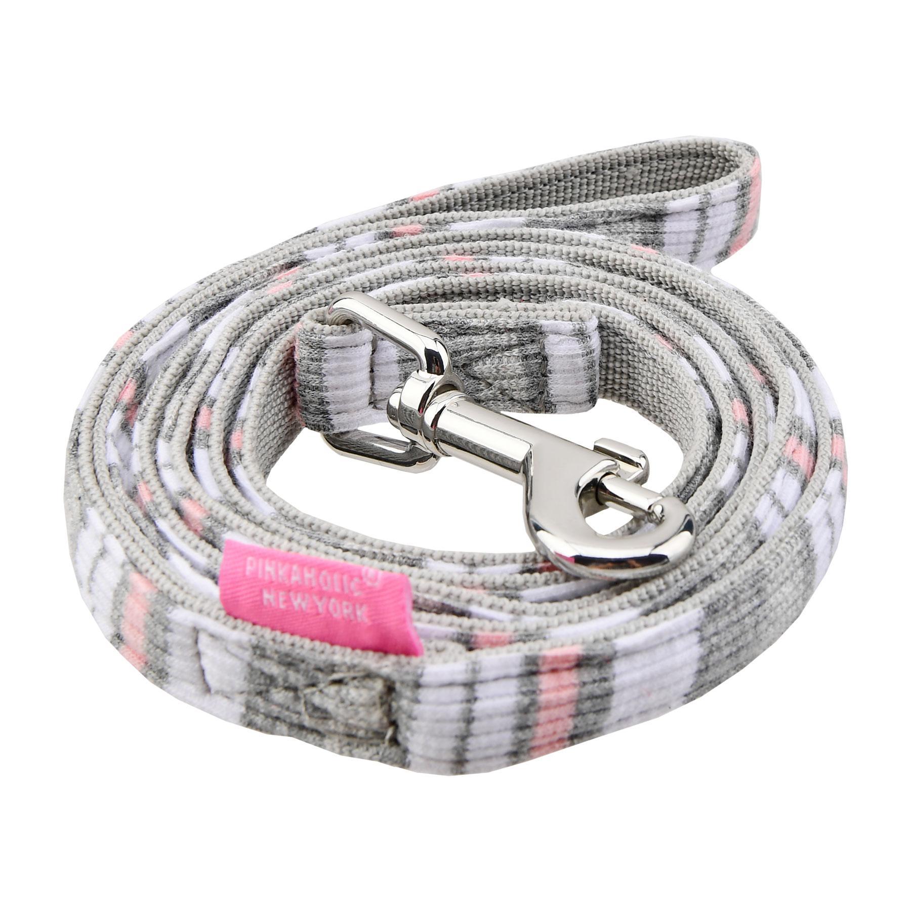 Cara Dog Leash by Pinkaholic - Grey