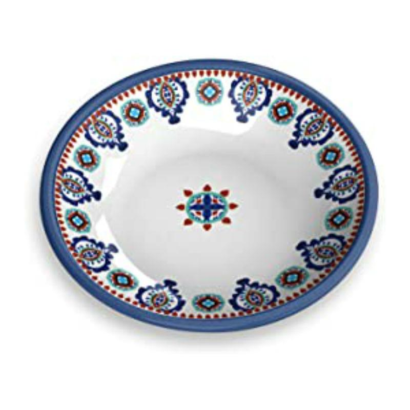Moroccan Blue Cat Saucer by TarHong - Multi