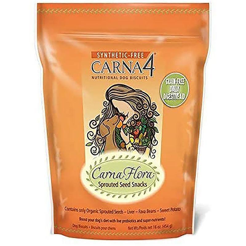 Carna4 CarnaFlora Sprouted Seed Dog Biscuits