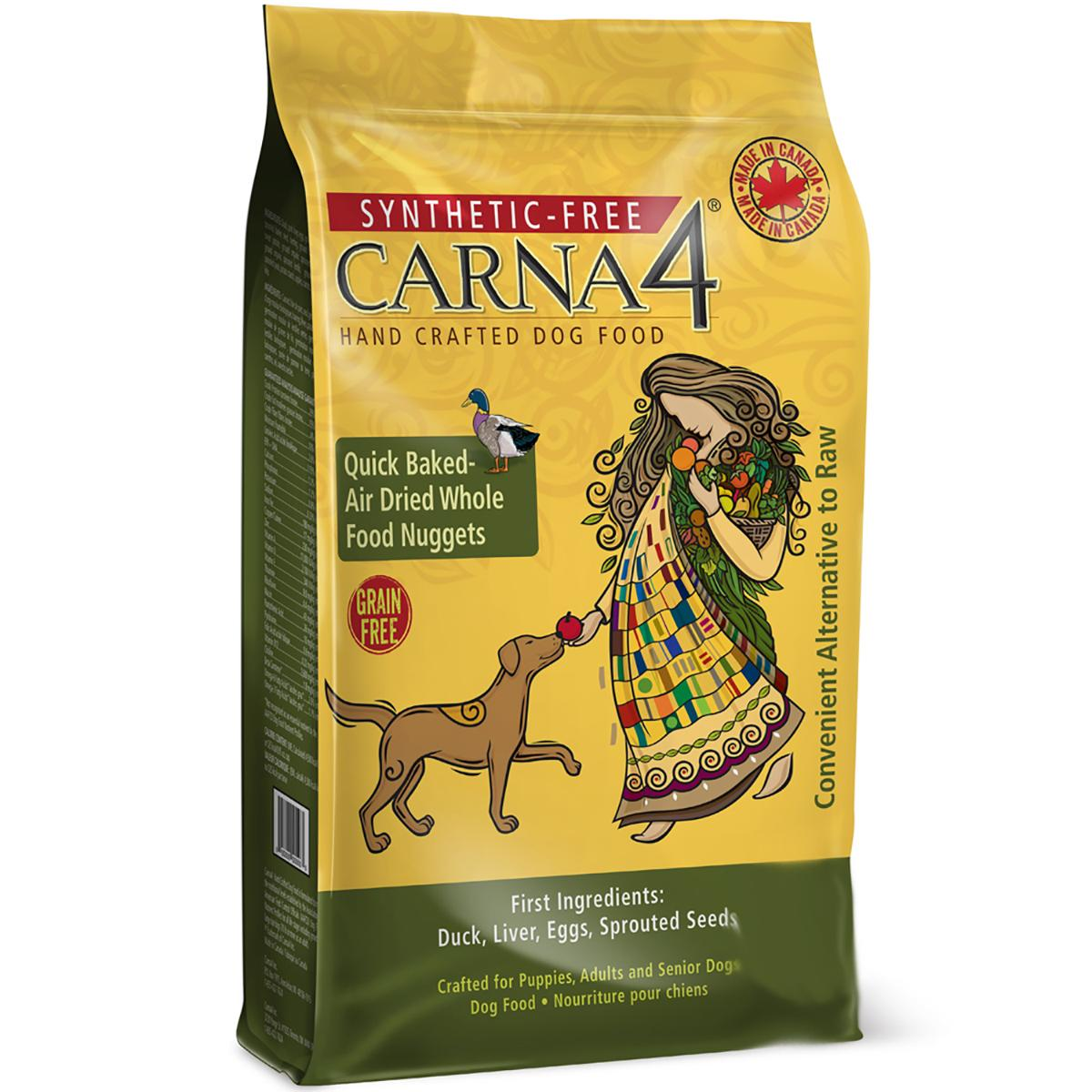 Carna4 Grain-Free Dry Dog Food - Duck Recipe
