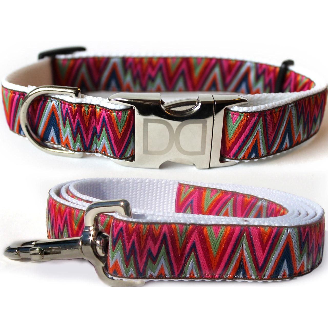 Ziggy Dog Collar and Leash Set by Diva Dog