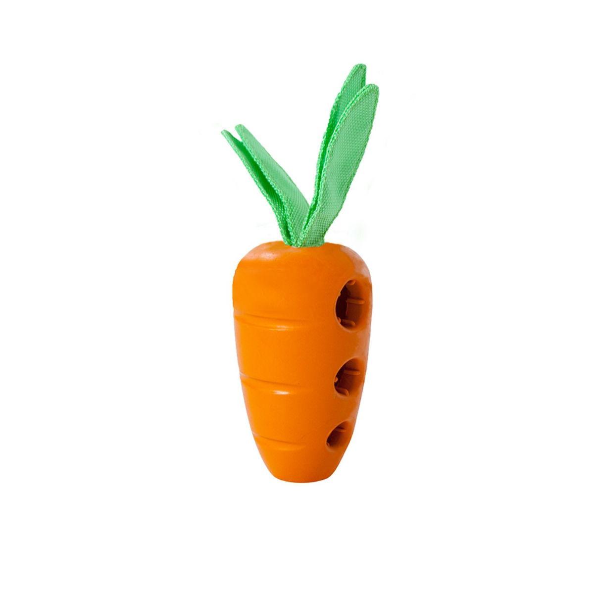 Carrot Stuffer Dog Toy