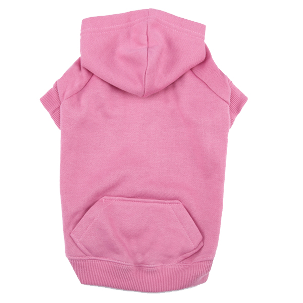 Casual Canine Basic Dog Hoodie - Pink