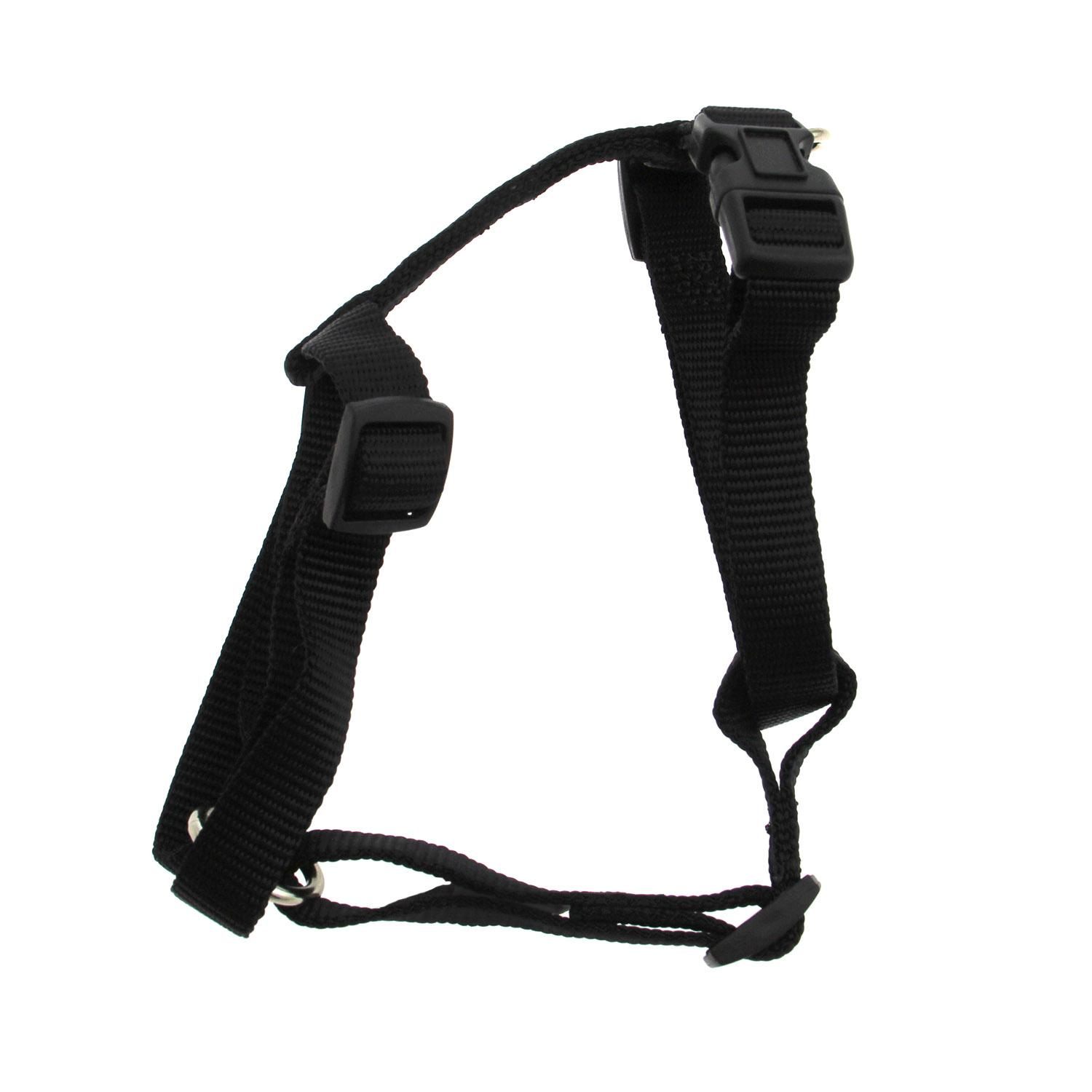Casual Canine Two-Step Dog Harness - Black