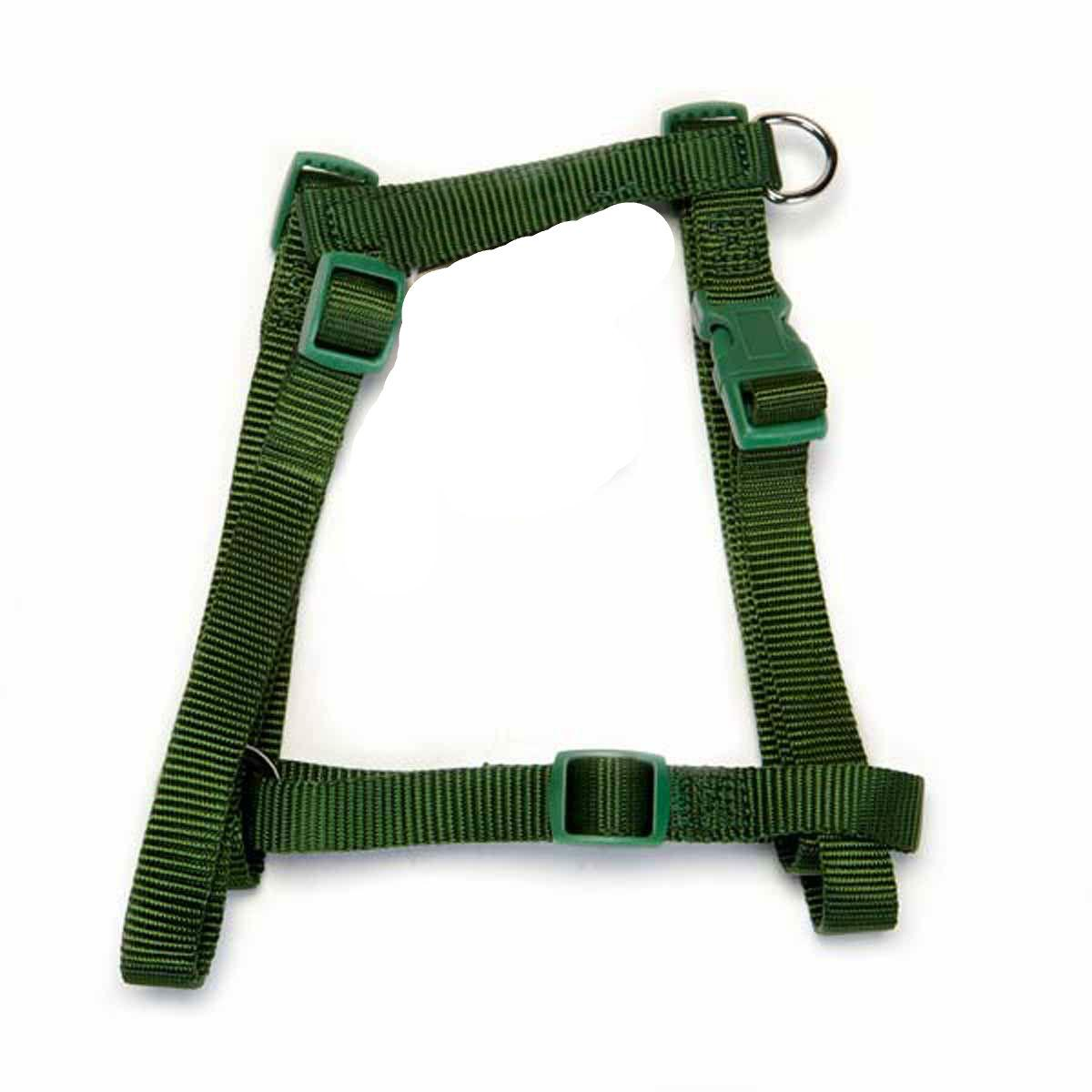 Casual Canine Two-Step Dog Harness - Hunter Green