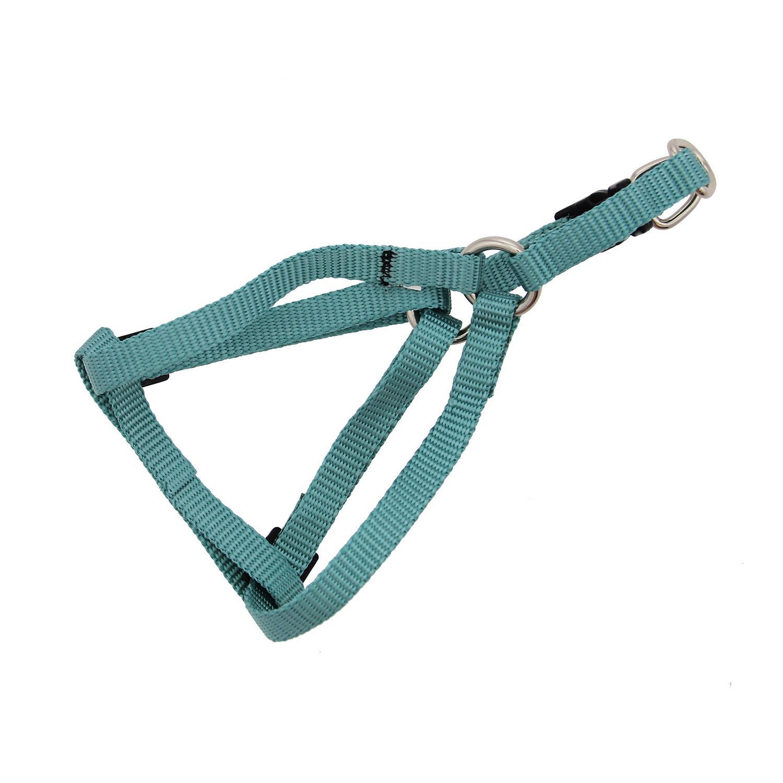 Casual Canine Two-Step Dog Harness - Malibu Blue