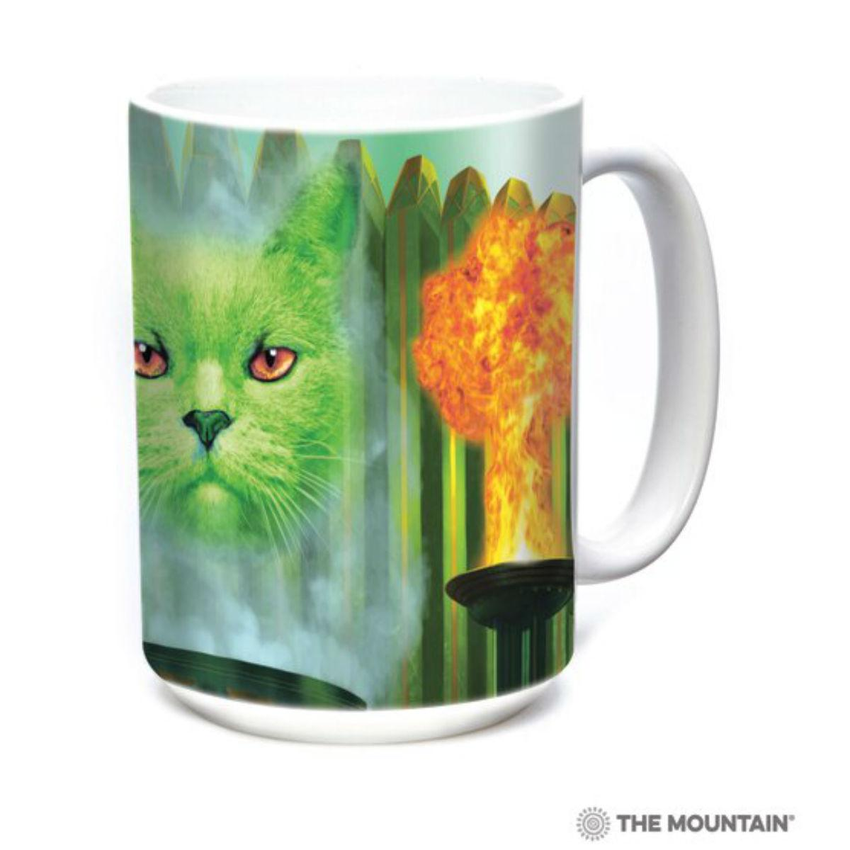 Cat the Great & Powerful Ceramic Mug by The Mountain