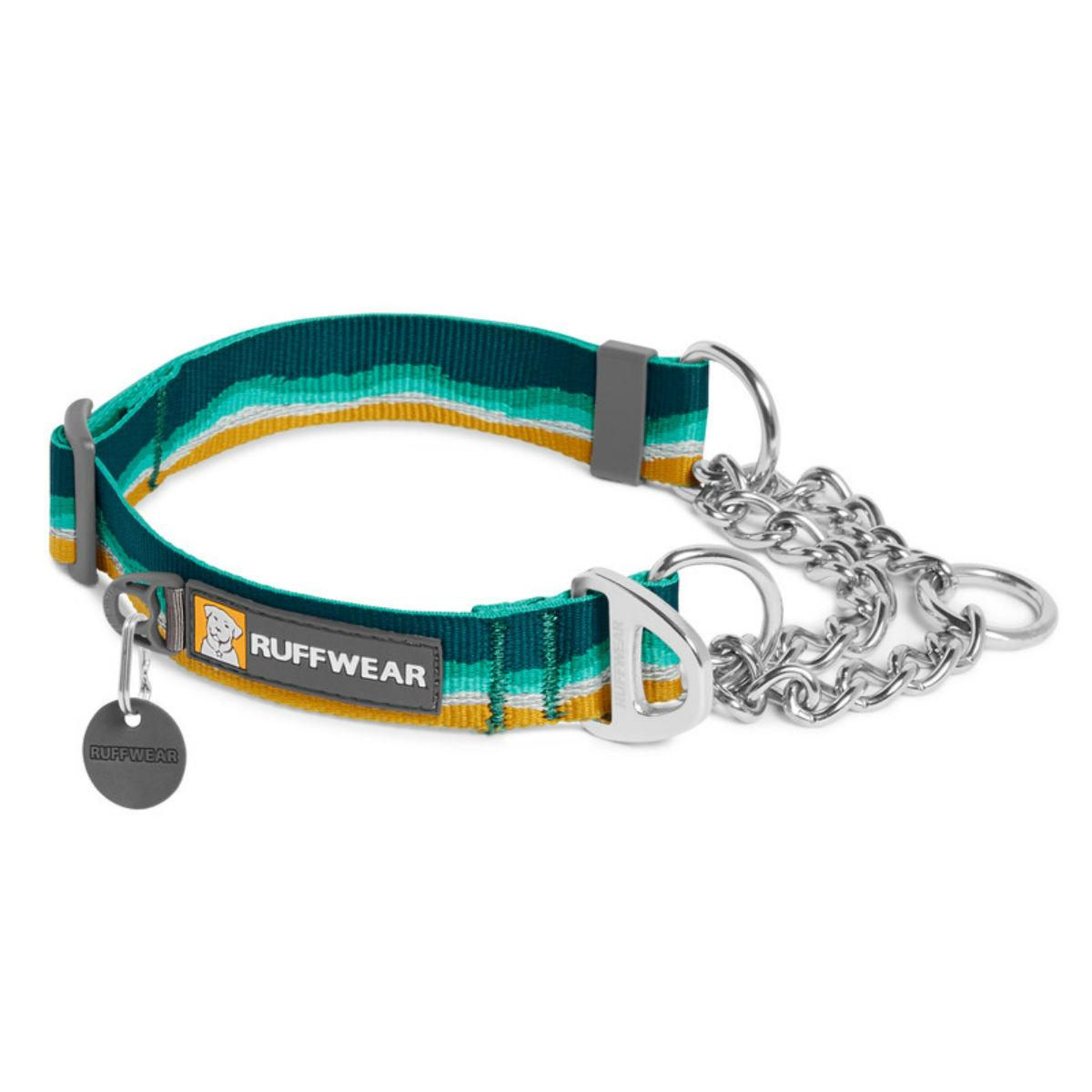 Chain Reaction Dog Collar by RuffWear - Seafoam
