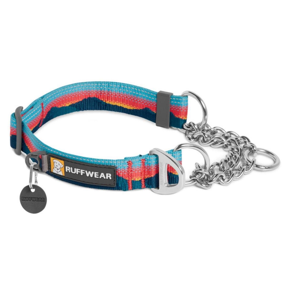 Chain Reaction Dog Collar by RuffWear - Sunset