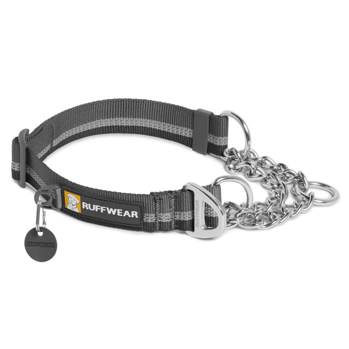 Chain Reaction Dog Collar by RuffWear - Granite Gray