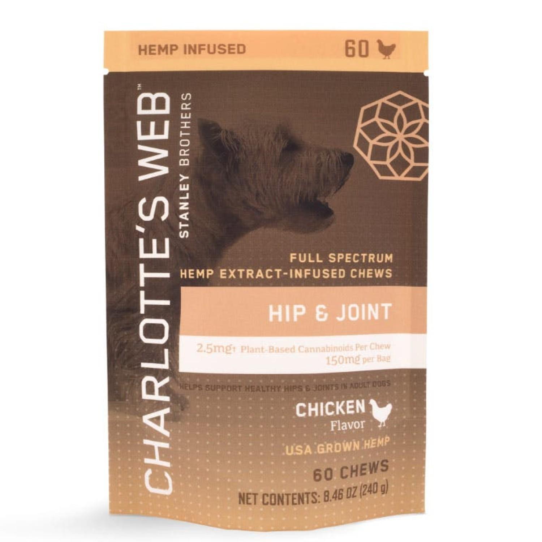 Charlotte's Web Pet Hemp Hip & Joint Dog Chew - Chicken_main