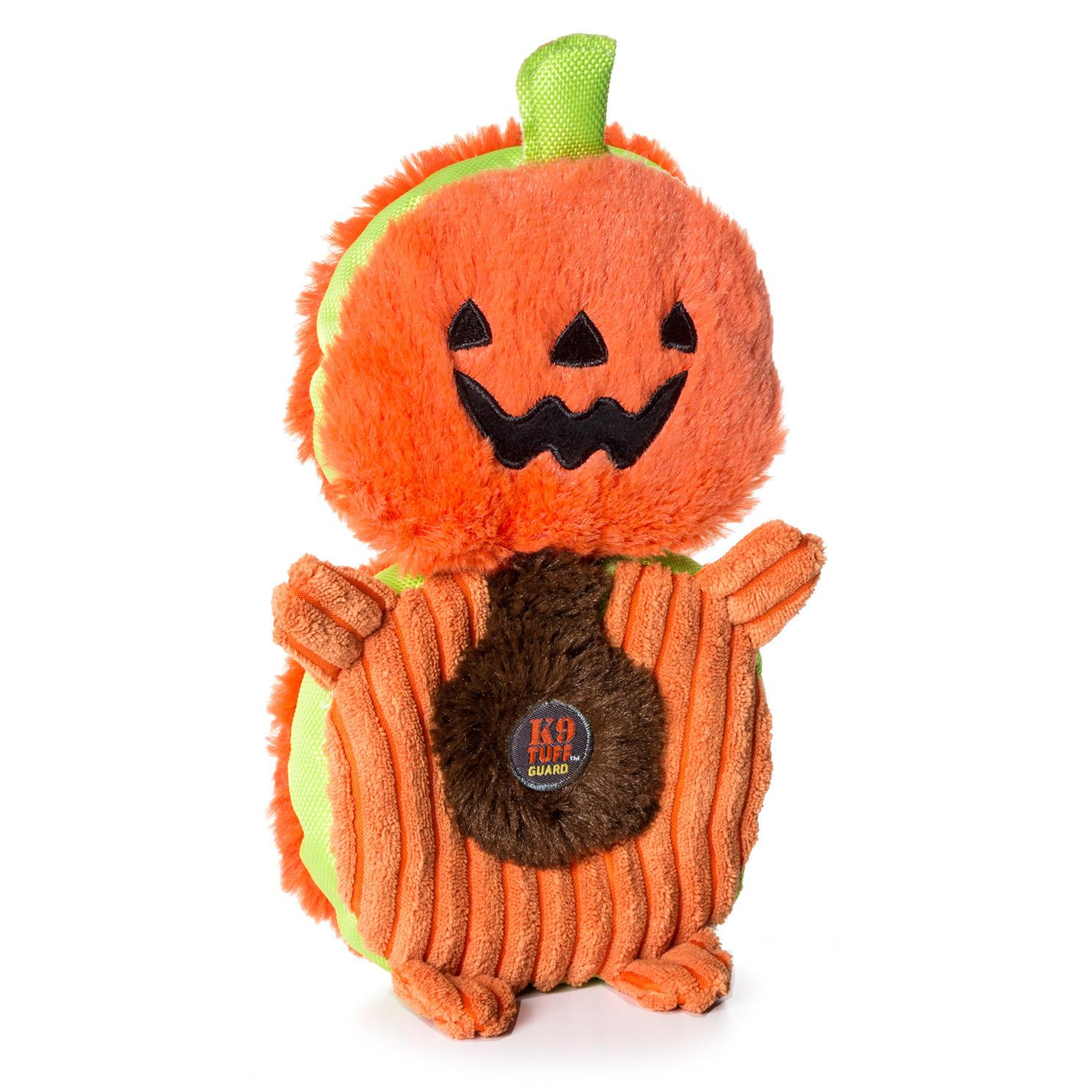 Charming Halloween Puzzlers Durable Dog Toy - Pumpkin