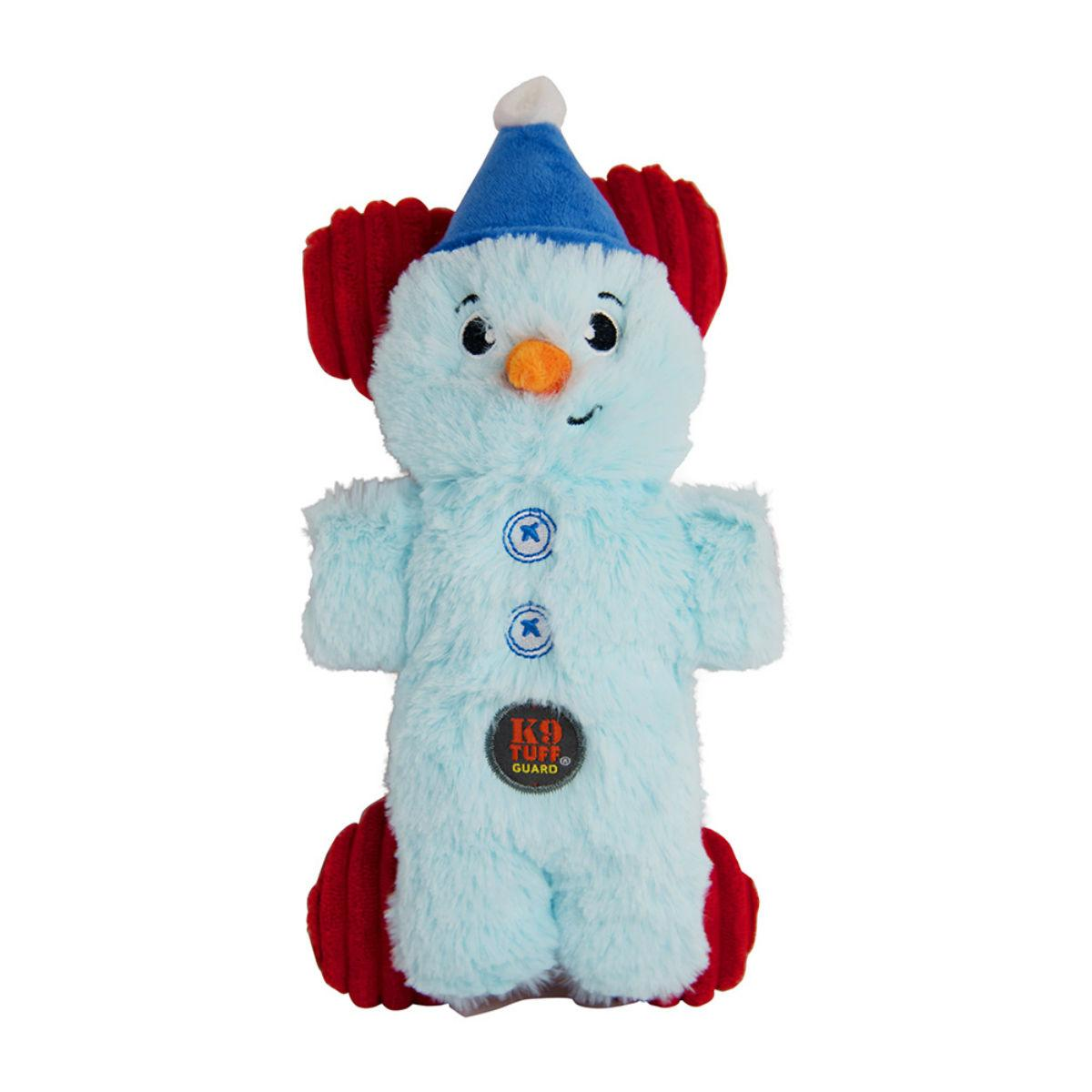 Charming Pet Holiday Mitten Mates Snowman Dog Toy