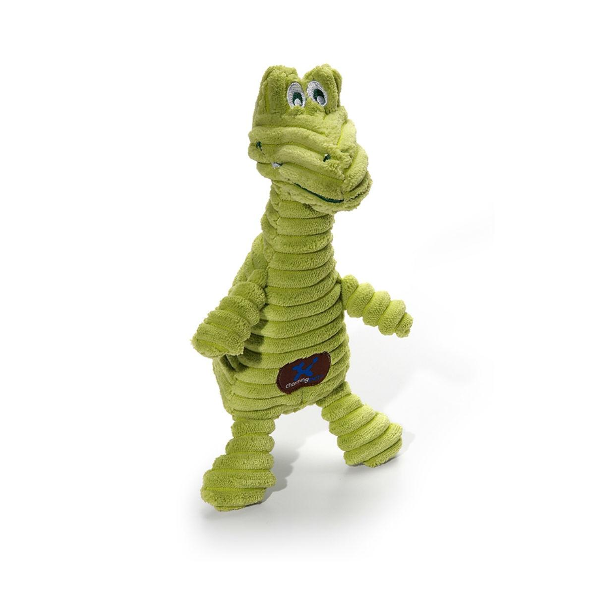Charming Squeakin' Squiggles Dog Toy - Gator