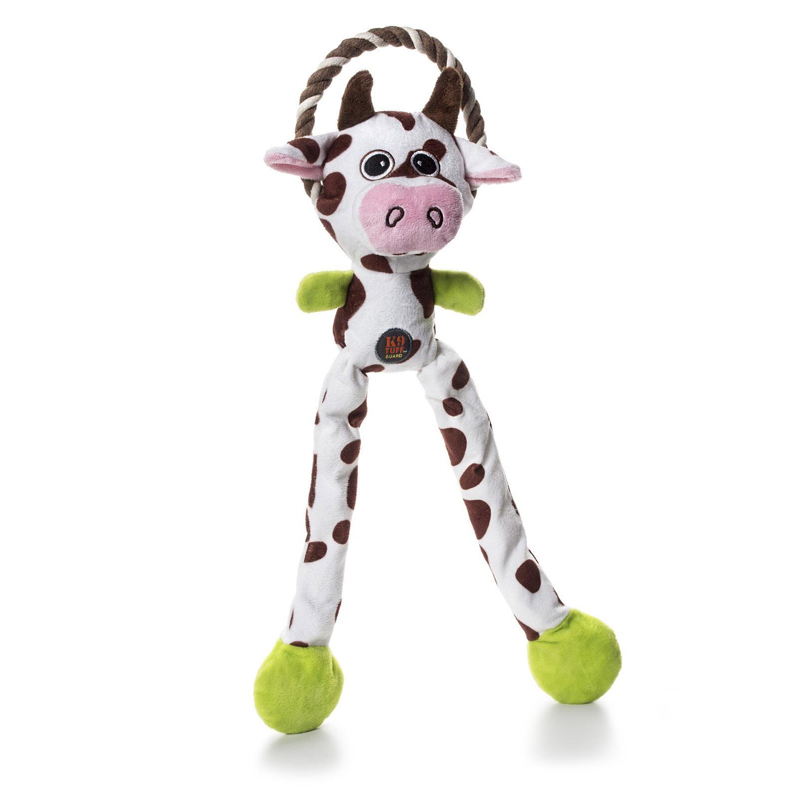 Charming Thunda Blasters Dog Toy - Leggy Cow