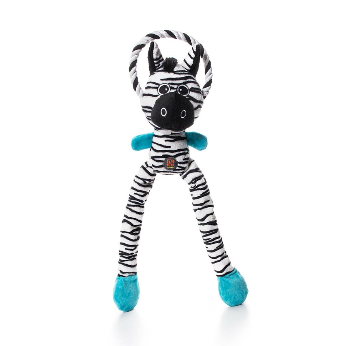 Charming Thunda Blasters Dog Toy - Leggy Zebra