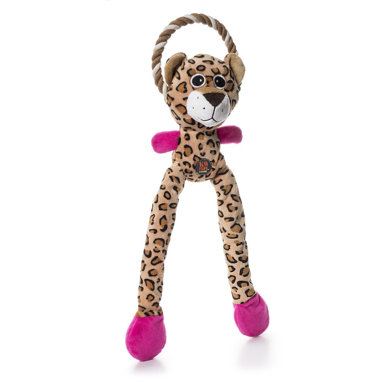 Charming Thunda Blasters Dog Toy - Leggy Leopard