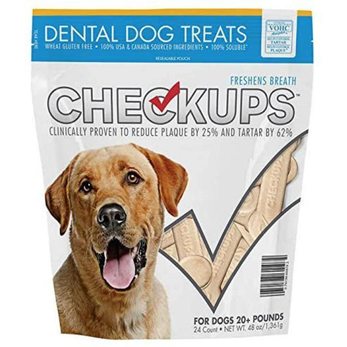 Checkups Dental Dog Treats