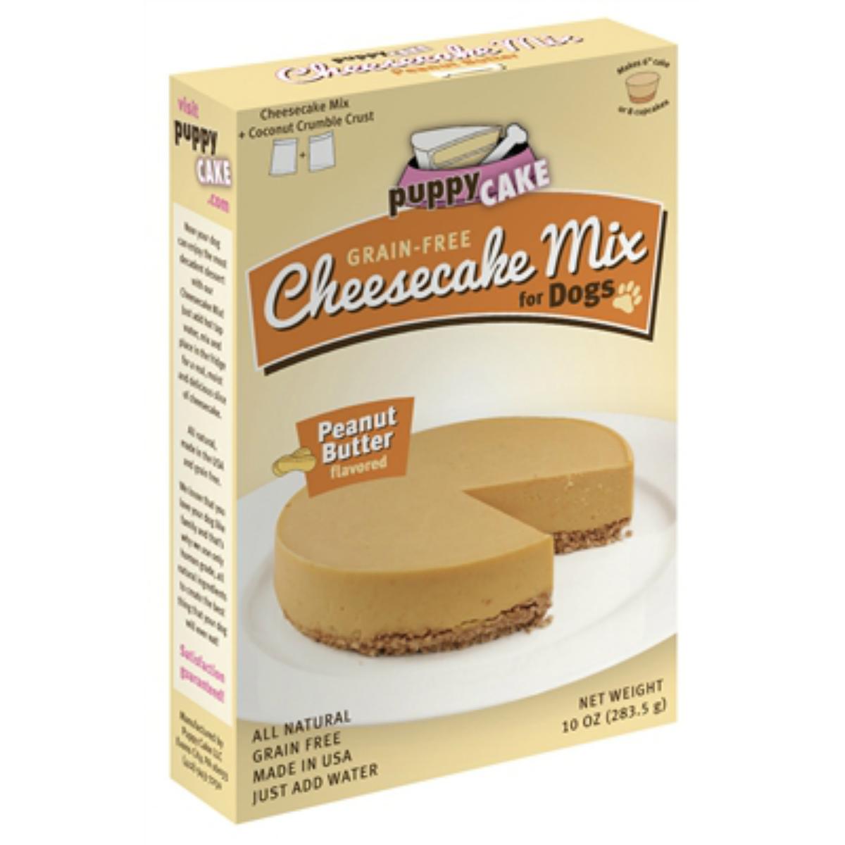 Cheesecake Puppy Cake Mix Dog Treat Peanut Baxterboo