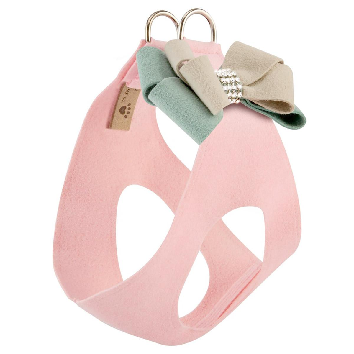 Hope Bow Step-In Dog Harness by Susan Lanci - Puppy Pink