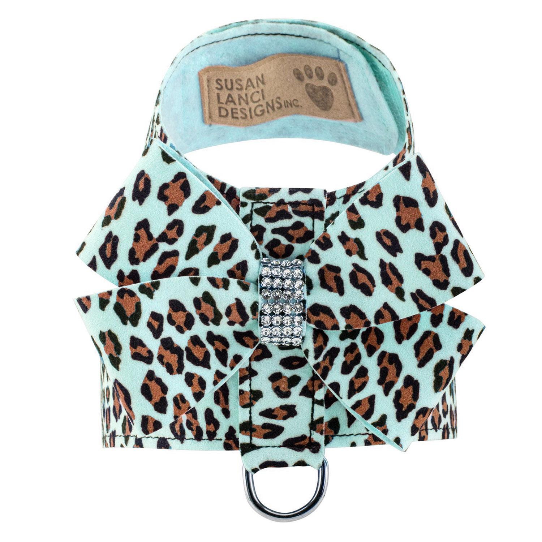 Cheetah Couture Nouveau Bow Tinkie Dog Harness by Susan Lanci - Tiffi Cheetah