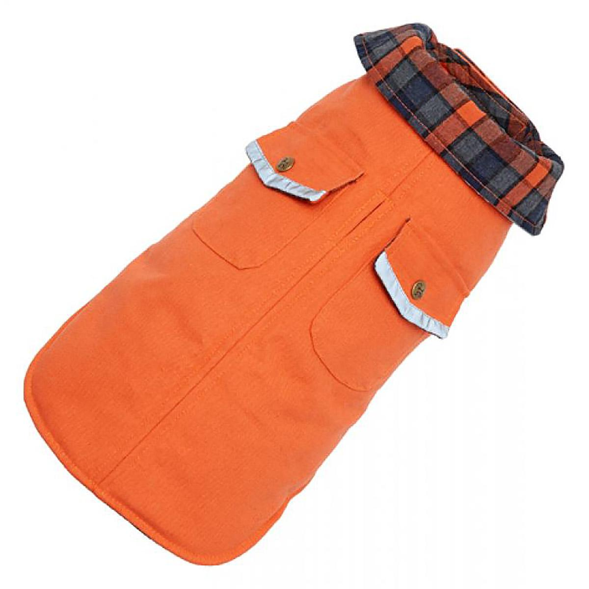 Orange Field Dog Coat by Up Country