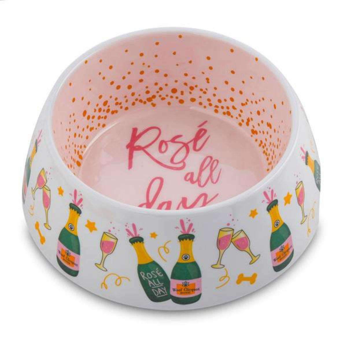 Rose' All Day Dog Bowl by Haute Diggity Dog