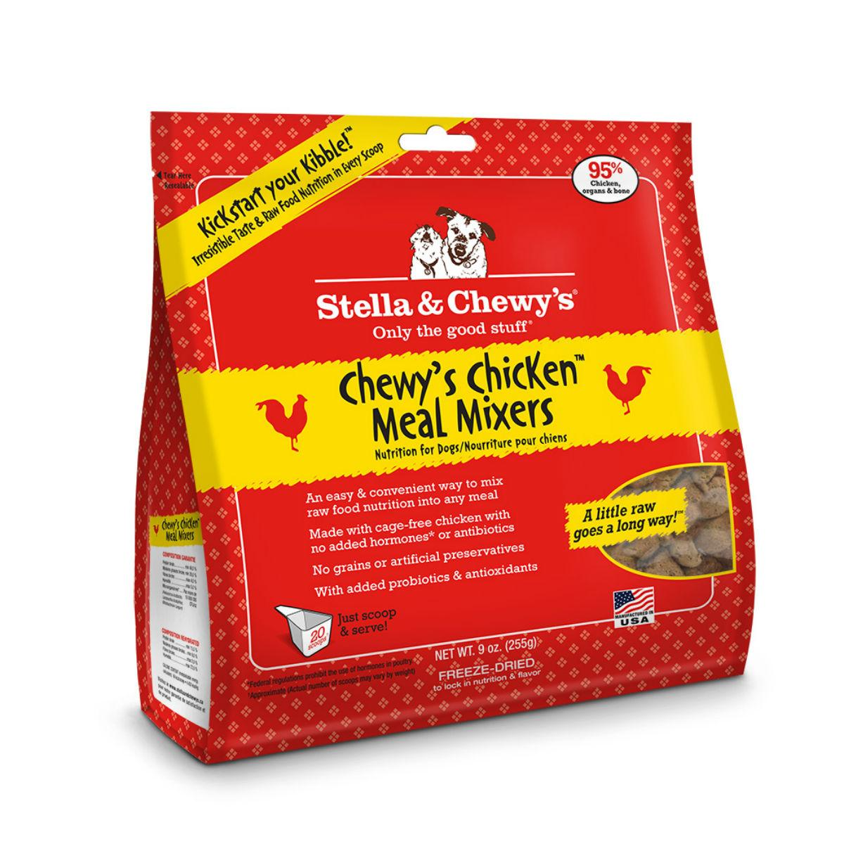 Stella & Chewy's Chicken Meal Mixers Dog Food Topper
