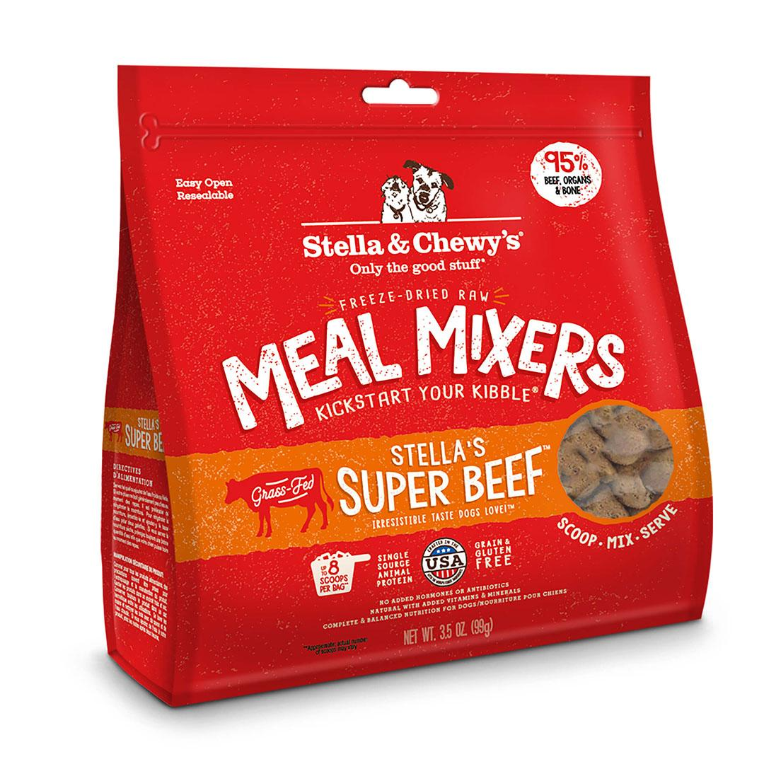 Stella & Chewy's Super Beef Meal Mixers Dog Food Topper