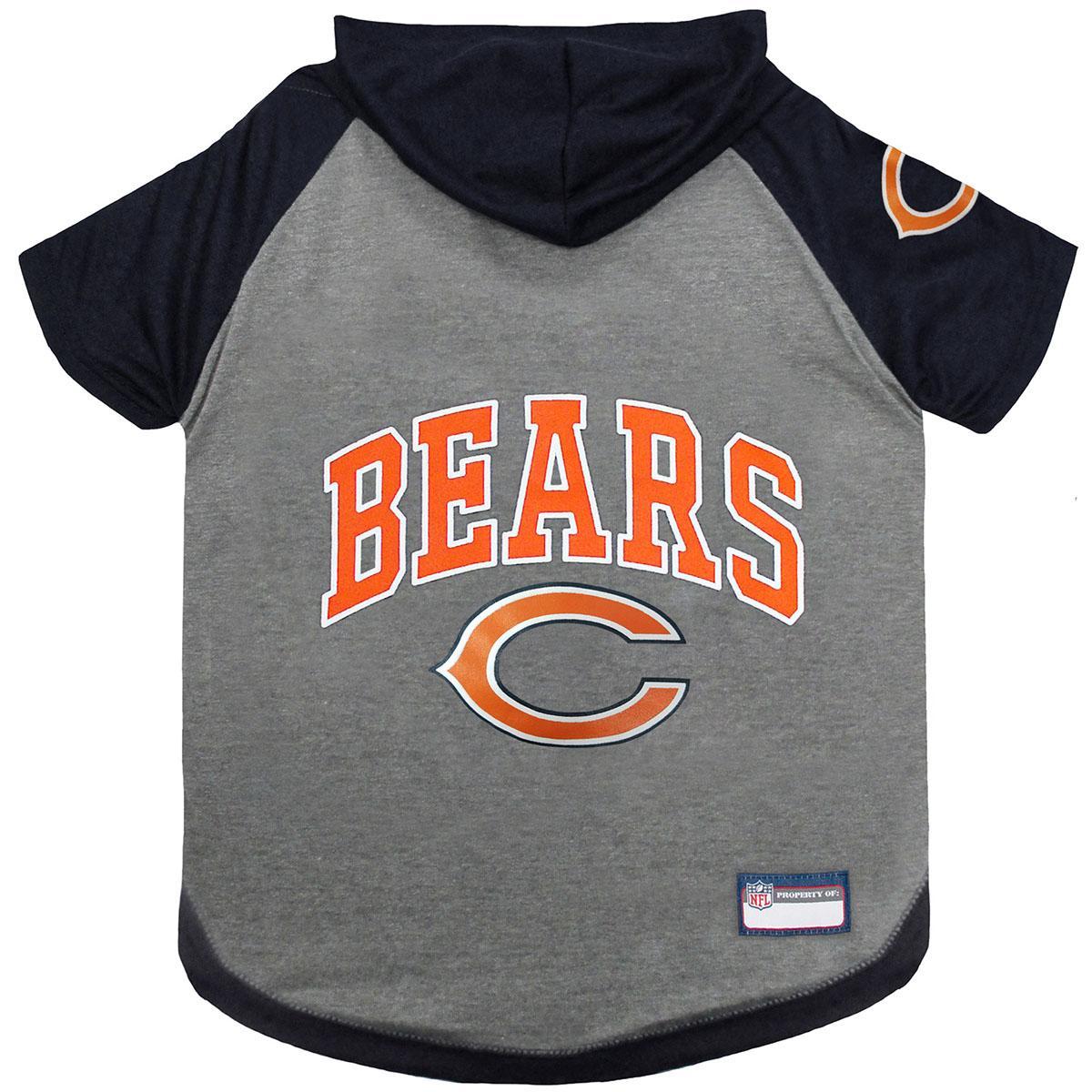 Chicago Bears Hooded Dog T-Shirt