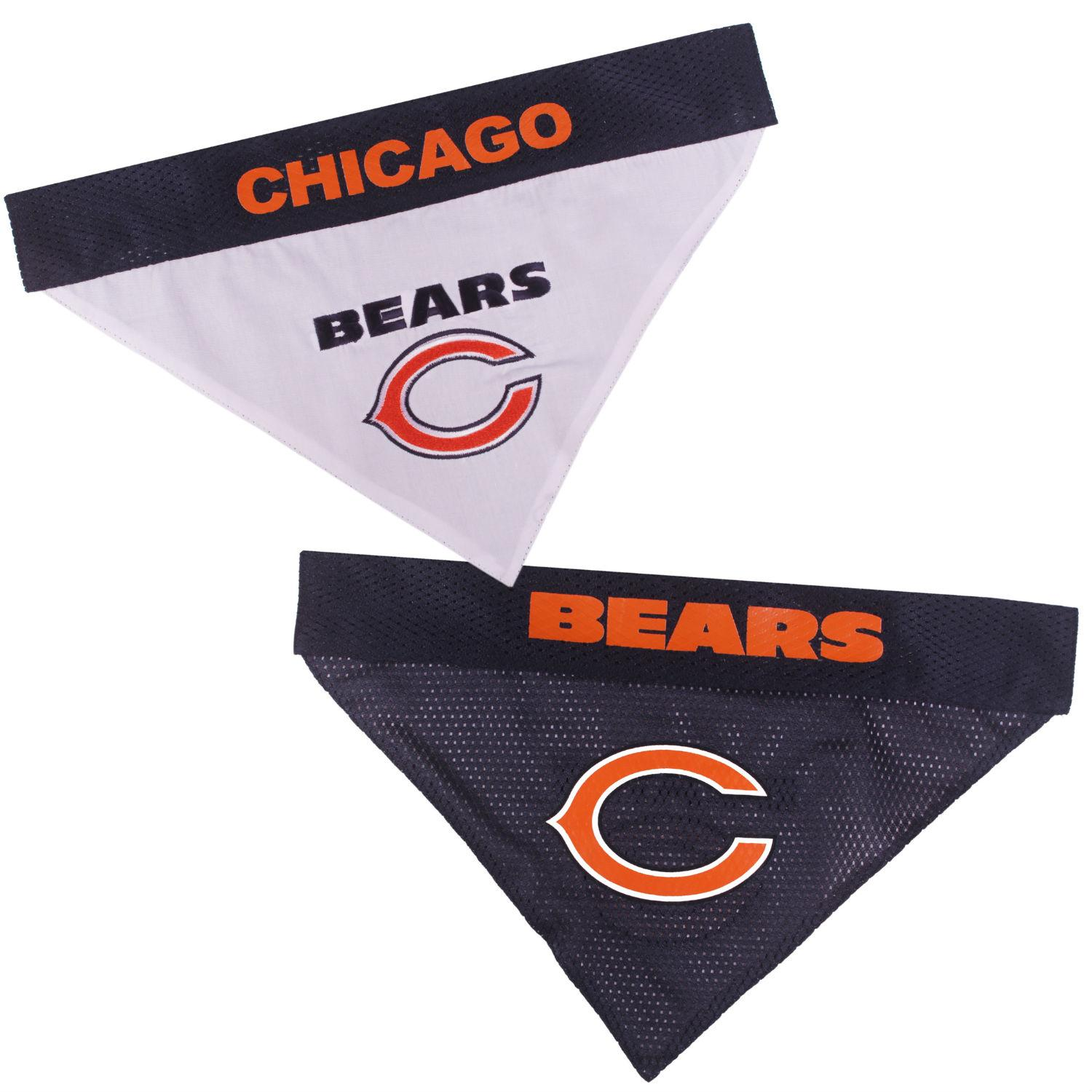 Chicago Bears Reversible Dog Bandana Collar Slider