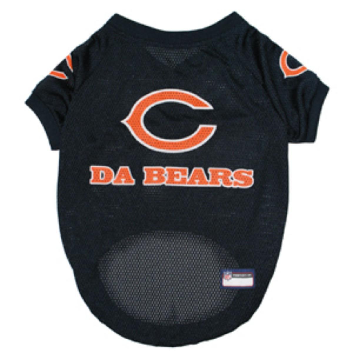 Chicago Bears Slogan Dog Jersey - Da Bears