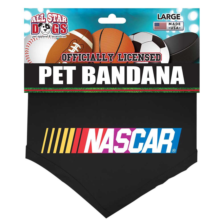 NASCAR Cotton Dog Bandana