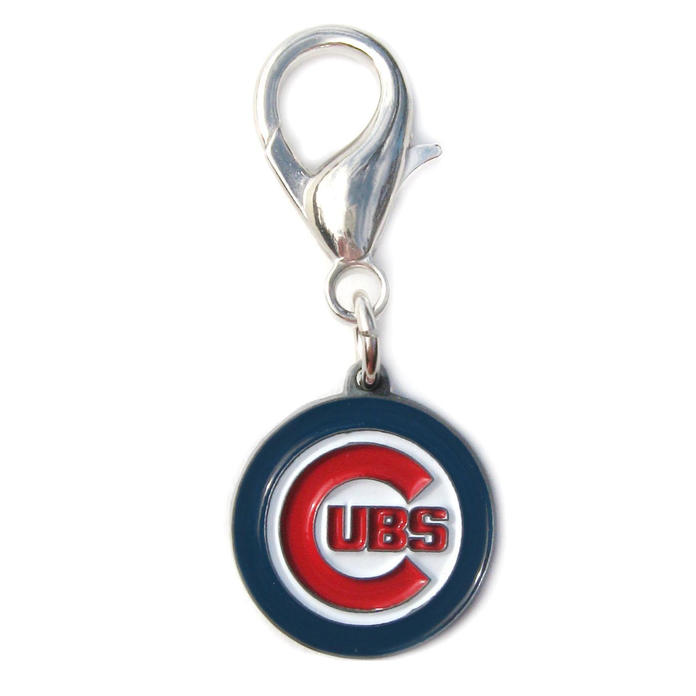 Chicago Cubs Logo Dog Collar Charm