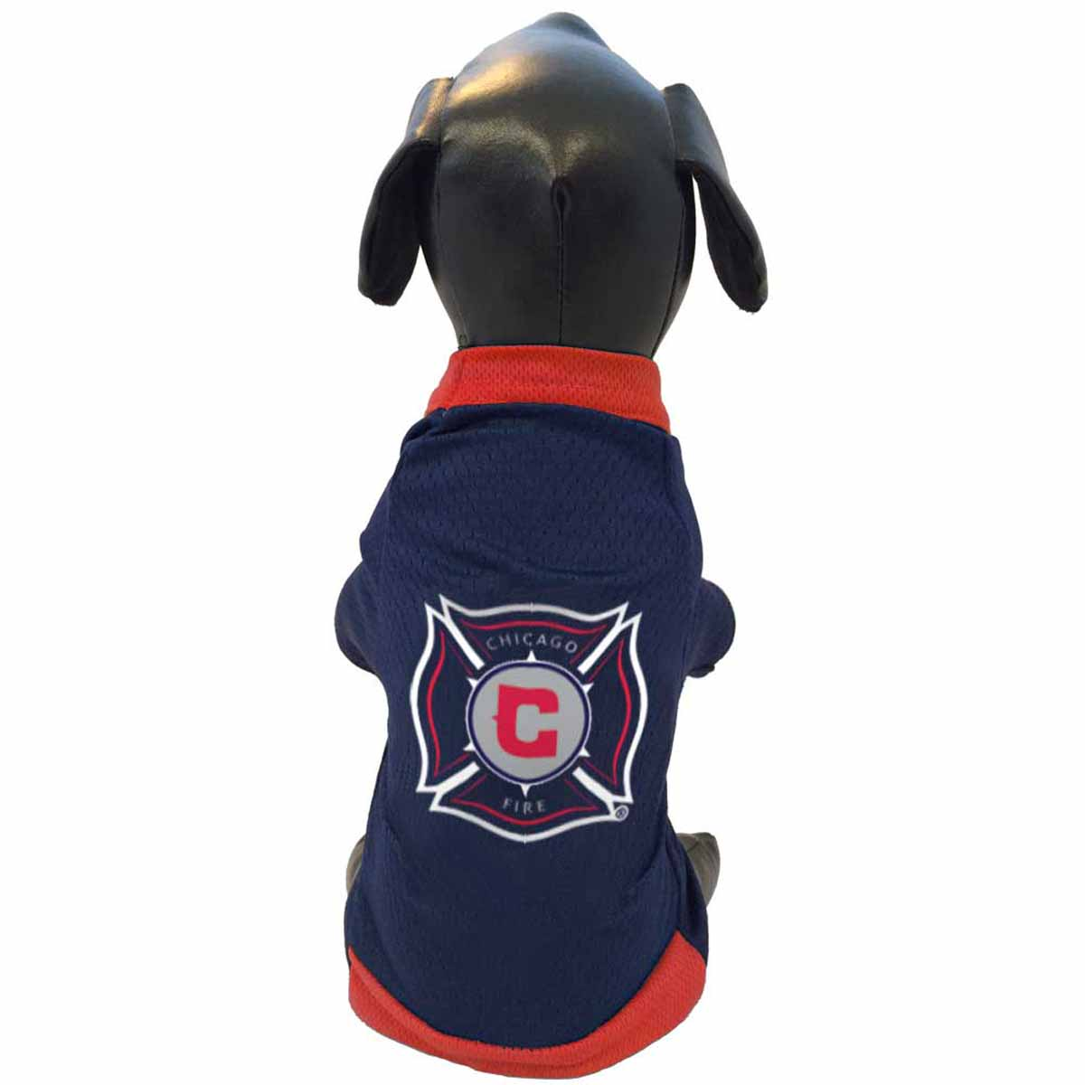 Chicago Fire Athletic Mesh Dog Jersey