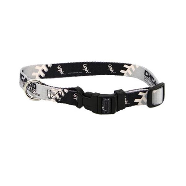 Chicago White Sox Baseball Printed Dog Collar