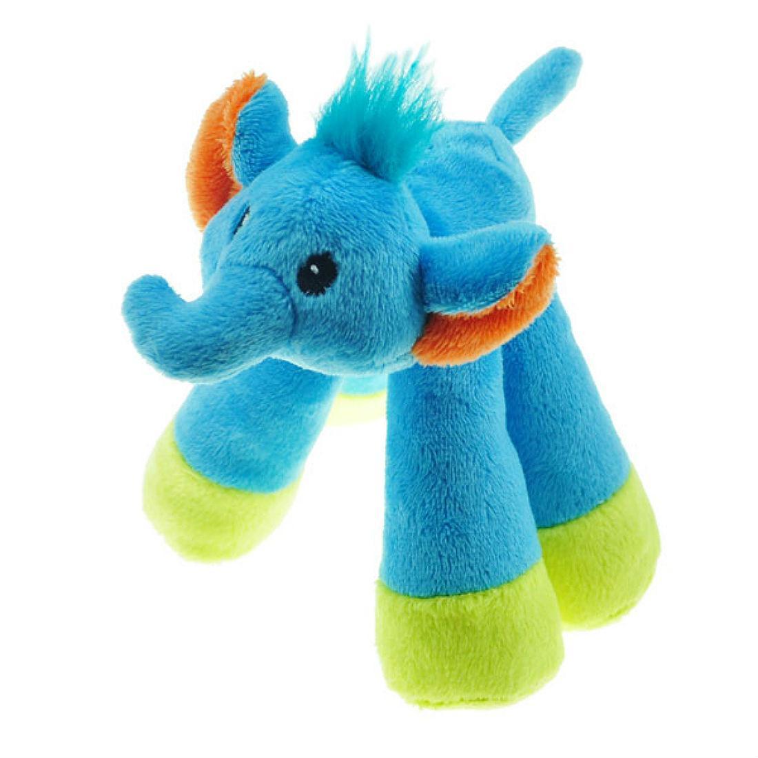 Chomper Mini Long Legs Safari Pals Dog Toy - Elephant