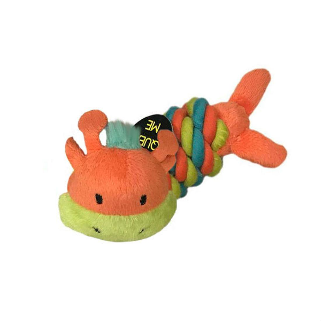 Chomper Mini Safari Twisties Dog Toy - Giraffe