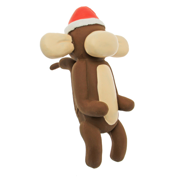 Christmas Charming Balloon Collection Dog Toy - Murray the Monkey