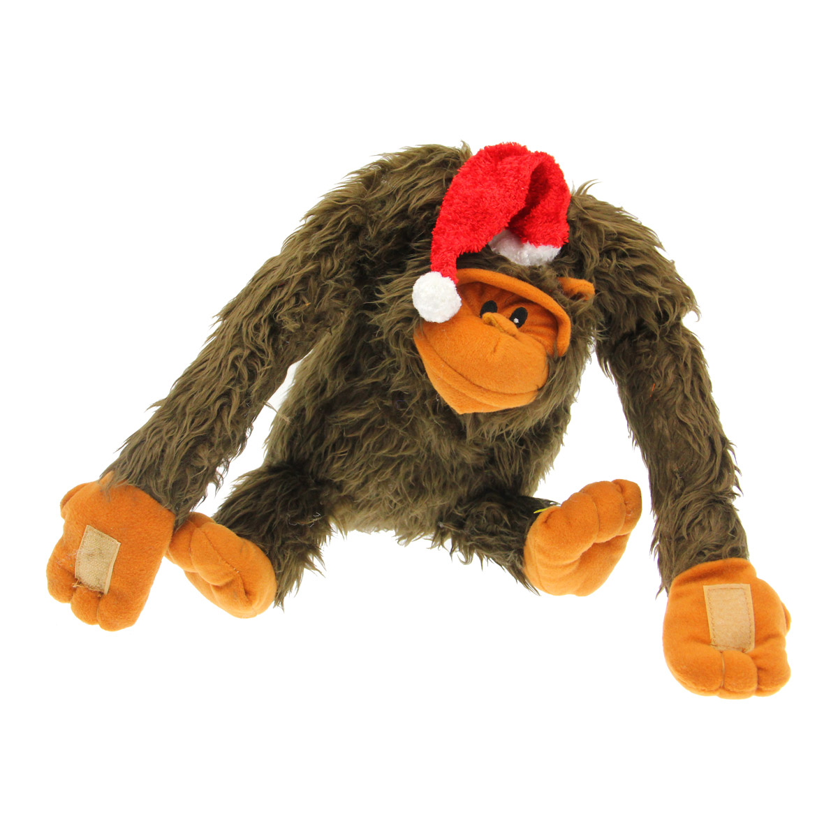christmas gorilla dog toy lou