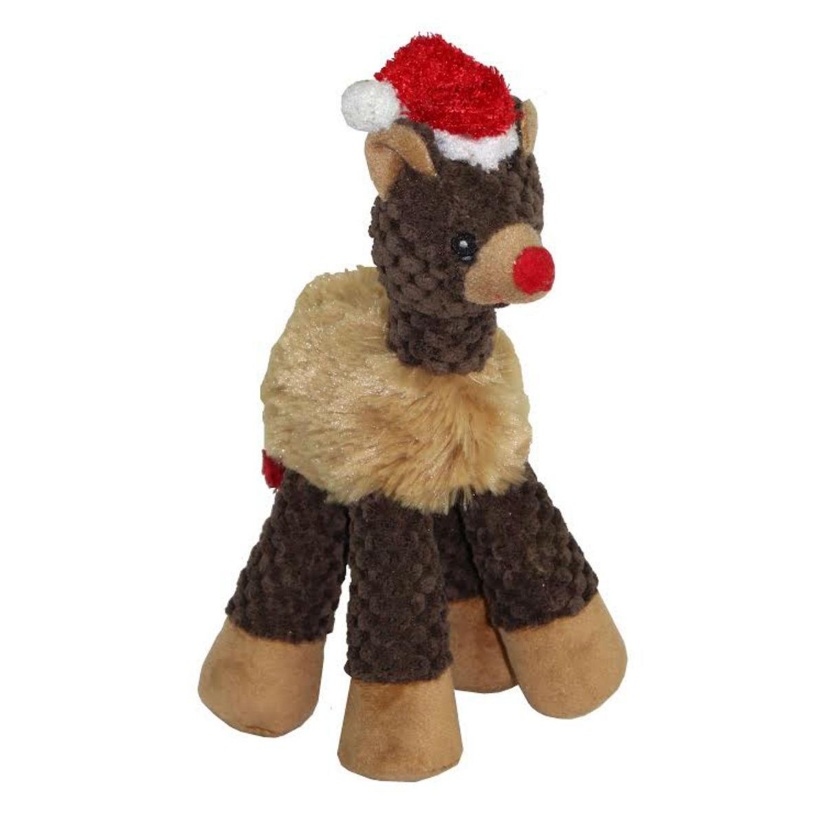 Christmas Long Legged Dog Toy - Bear