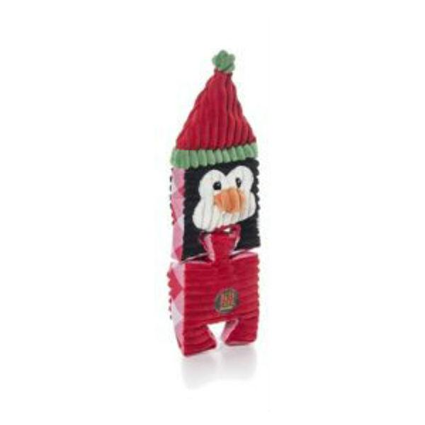 Christmas Puzzlers Penguin Dog Toy